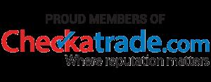 proud members of checkatrade logo