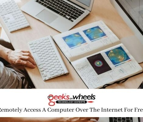 Remotely Access A Computer Over The Internet For Free